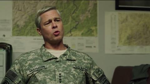 """""""War Machine"""" to opowieść o generale, który dowodzi misją wojskową w Afganistanie"""