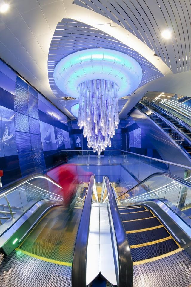 Stacja Khalid Bin Al Waleed w Dubaju, w Zjednoczonych Emiratach Arabskich