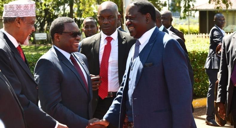 Handshake partner Raila Odinga outlines next step after presentation of Building Bridges Initiative (BBI) Report at Bomas of Kenya