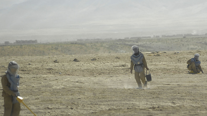 Przyczyną tragedii w Afganistanie były radzieckie miny