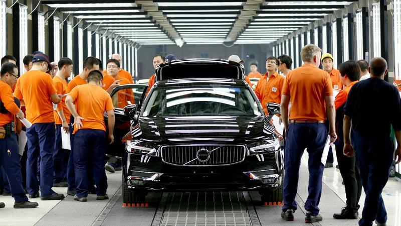 Produkcja nowego Volvo S90 w Daqing