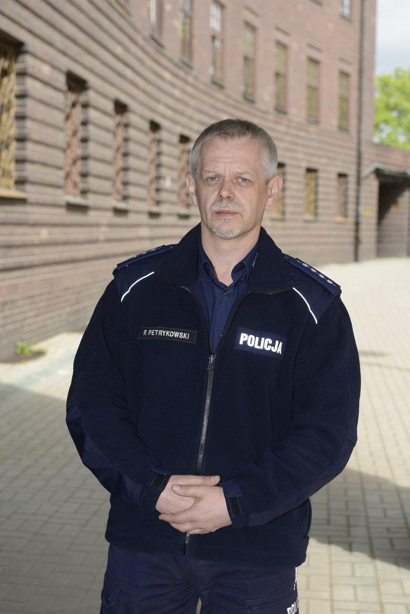 Paweł Petrykowski (47 l.), rzecznik dolnośląskiej policji