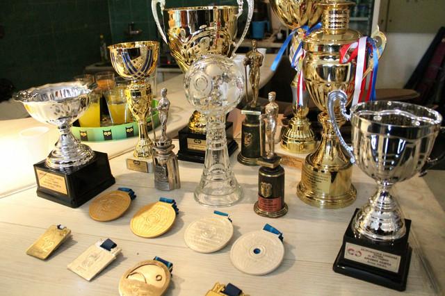 Deo Andreine trofejne kolekcije