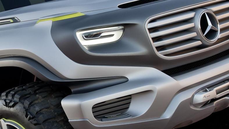 Jak zapowiadają ludzie z Mercedesa prototypowy Ener-G-Force to zapowiedź kształtów jakimi być może obdarzy kierowców nowa generacja klasy G, która ma pojawić się w ofercie w 2025 roku...