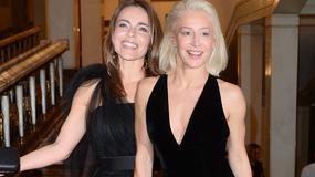 Edyta Herbuś i Katarzyna Warnke w czerni na premierze baletu. Która wyglądała lepiej?