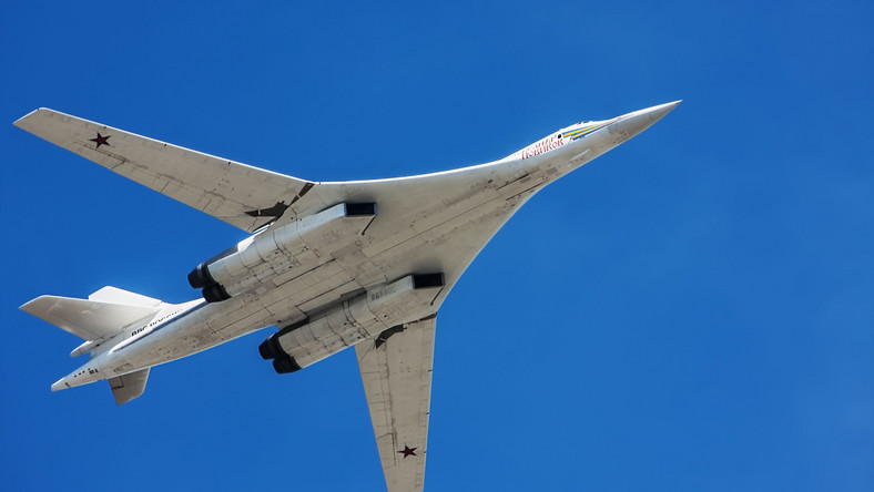 Rosyjski bombowiec strategiczny Tu-160