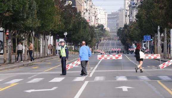 Zatvorene ulice za saobraćaj