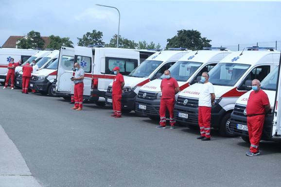 Sanitetska vozila biće donirana domovima zdravlja u RS