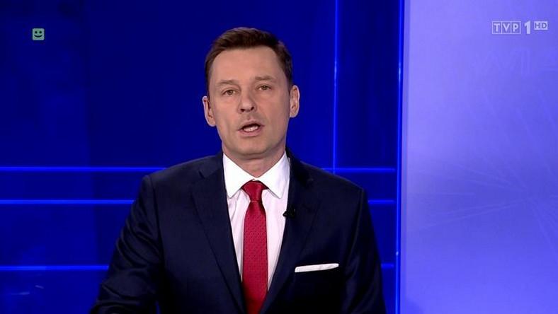 """Krzysztof Ziemiec w """"Wiadomościach"""" TVP"""