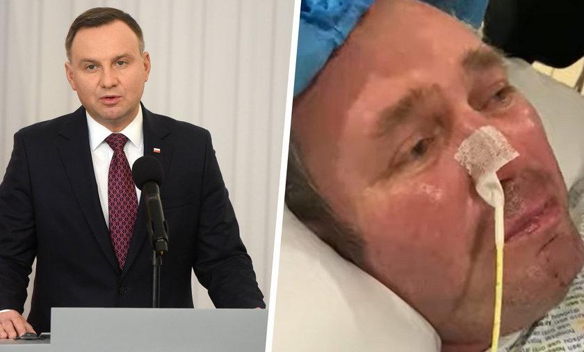 Lekarze przestali karmić Polaka. Andrzej Duda kazał się tym zająć.