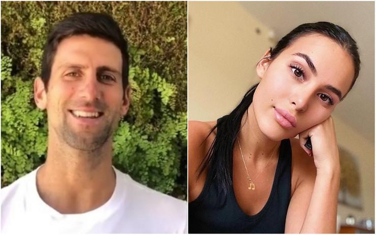 Novak Đoković i Anastasija Ražnatović