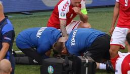 Euro: Christian Eriksen victime d'un malaise cardiaque en plein match