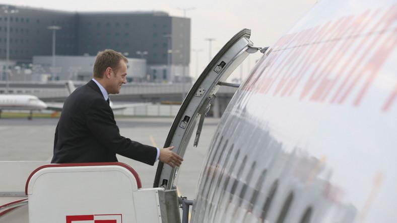 Premier Tusk wyjechał z Polski. W interesach