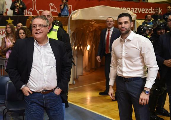 Nebojša Čović i Dušan Alimpijević