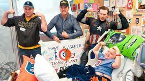 Chris Pratt i Chris Evans odwiedzili chore dzieci w szpitalu