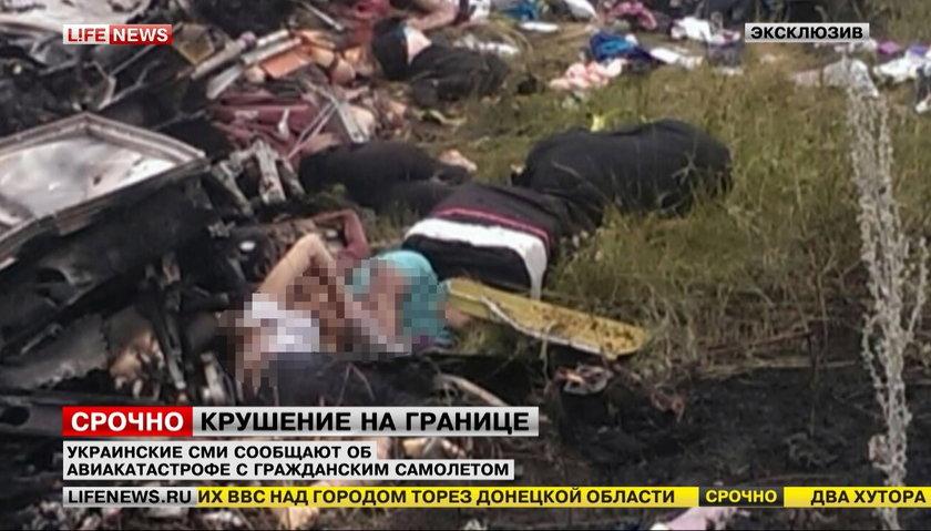 Tragedia na Ukrainie. Boeing z 289 osobami został zestrzelony