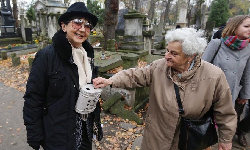 kwesta na cmentarzu powązki