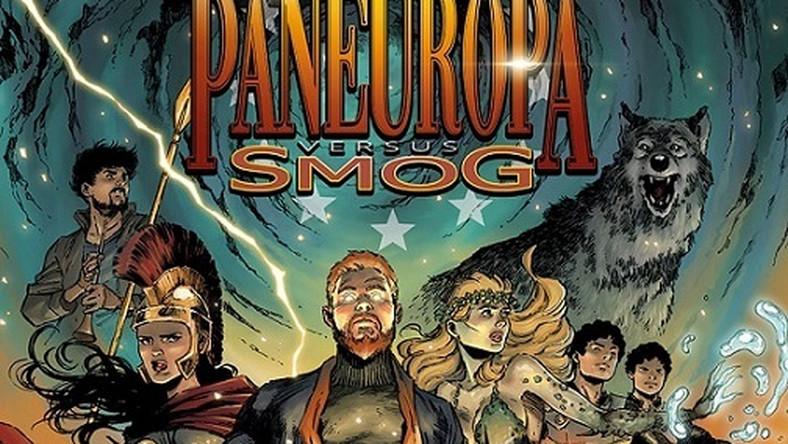 """Okładka komiksu """"PanEuropa versus smog"""""""