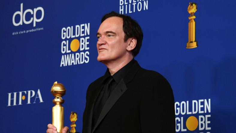 Quentin Tarantino ze Złotym Globem