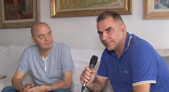 Duško Vujošević tokom intervjua koji je našem kolegi Vladanu Tegeltiji dao za Blicsport