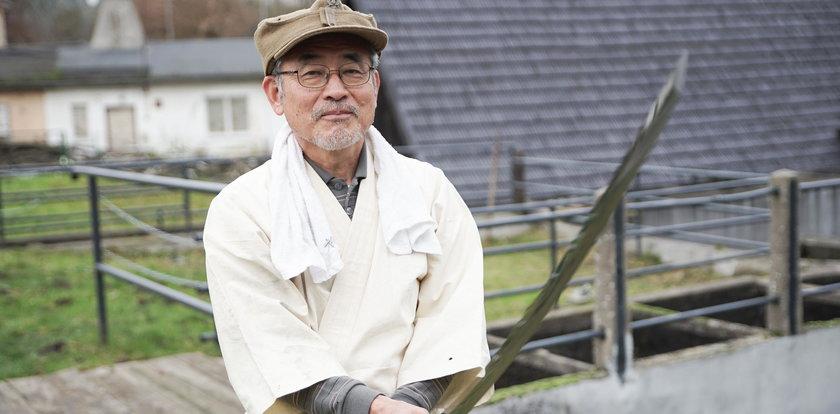 Mistrz z Japonii wykuł w Gdańsku samurajską broń!