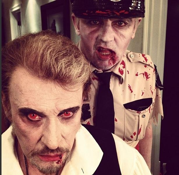 Johnny Hallyday Halloween 2013