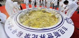 Ryż dla świń pogrzebał szanse na rekord Guinnessa