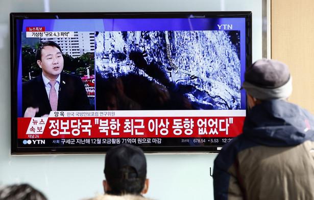 O próbie poinformowały koreańskie media