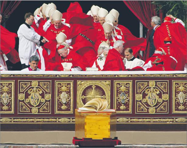 8 kwietnia 2005 r. Pogrzeb Jana Pawła II Fot. Reuters/Forum