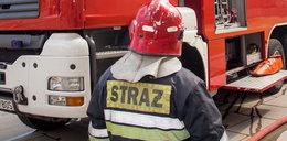 Wybuch butli z gazem w domu jednorodzinnym na Mazowszu. Dwie osoby ranne