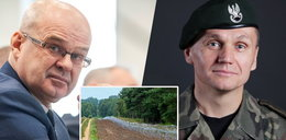 Minister Błaszczak chwali się płotem na granicy. Tymczasem MON: To nie płot, lecz zapora fortyfikacyjna!