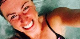 Selfie Kowalczyk podczas kąpieli. Podoba wam się?