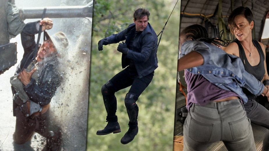 Harrison Ford, Tom Cruise i Charlize Theron (fot. Getty Images/Murray Close i Pierre Suu)