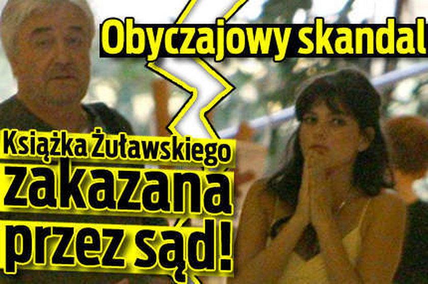 Książka Żuławskiego zakazana przez sąd!