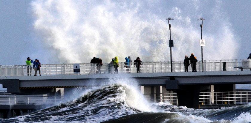 Potężne fale na Bałtyku! Będzie bardzo niebezpiecznie