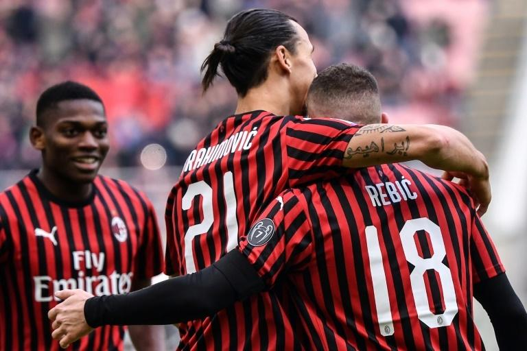 Swedish forward Zlatan Ibrahimovic's return to AC Milan has lifted the team
