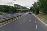Uklljučenje na auto-put kod Arene na Novom Beogradu