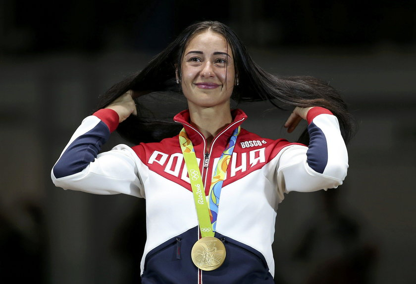 Jej ciało robi furorę na igrzyskach