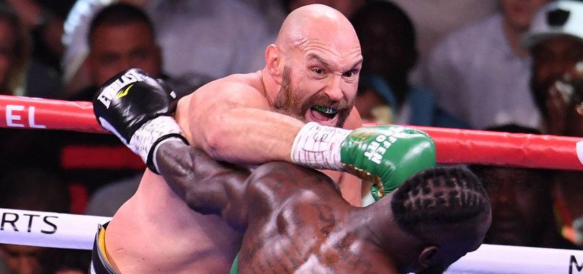 Pięściarska wojna w Las Vegas. Fury nadal jest królem