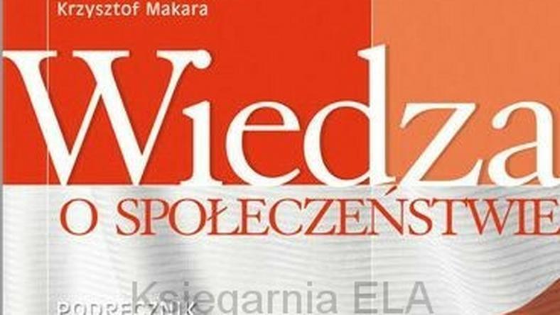 Okładka budzącego kontrowersje podręcznika, fot. operon.pl