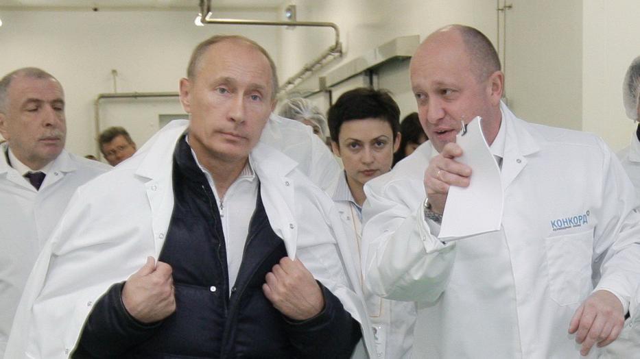 Vlagyimir Putyin orosz elnök bizalmasa Jevgenyij Prigozsin / Fotó: profimedia-reddot