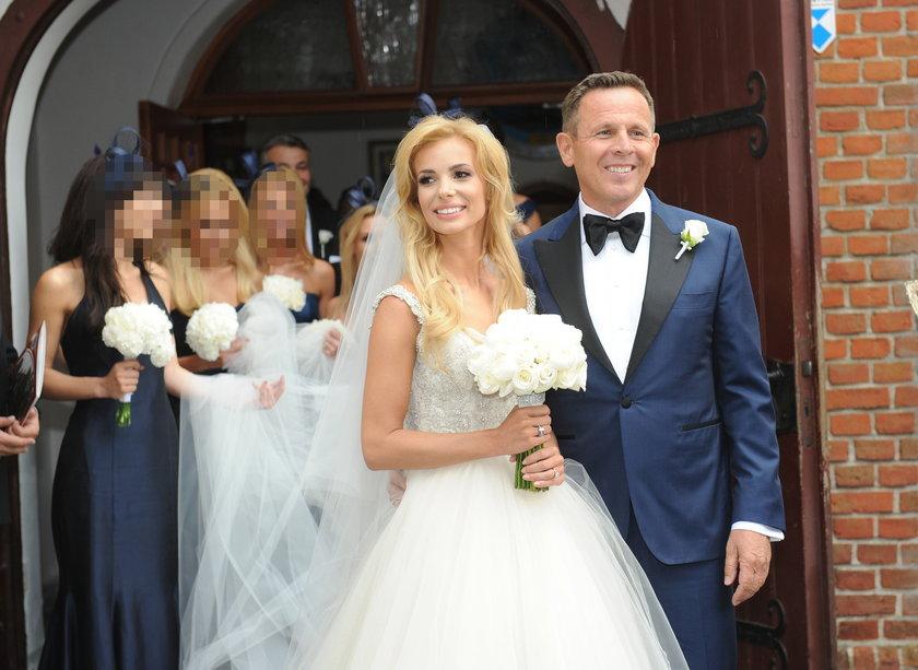 Ślub Izabeli Janachowskiej i Krzysztofa Jabłońskiego w Iławie