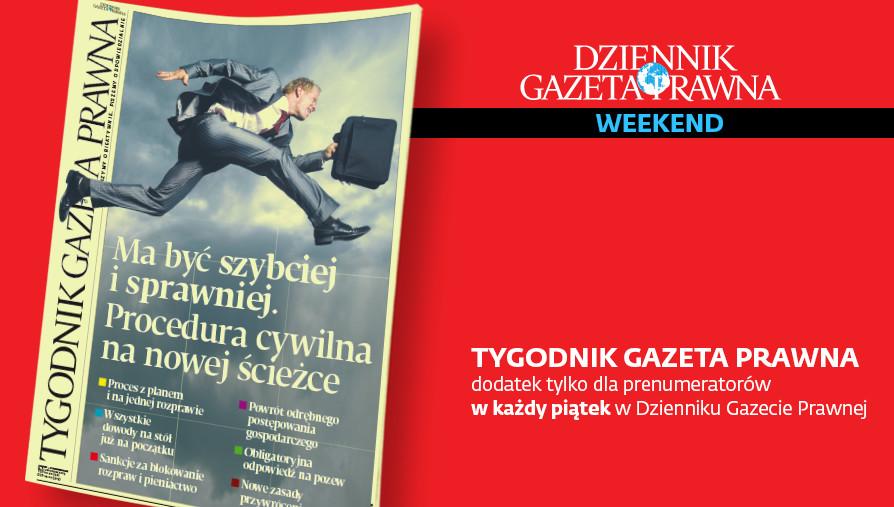 Tygodnik. Okładka. TGP. 8.11.2019