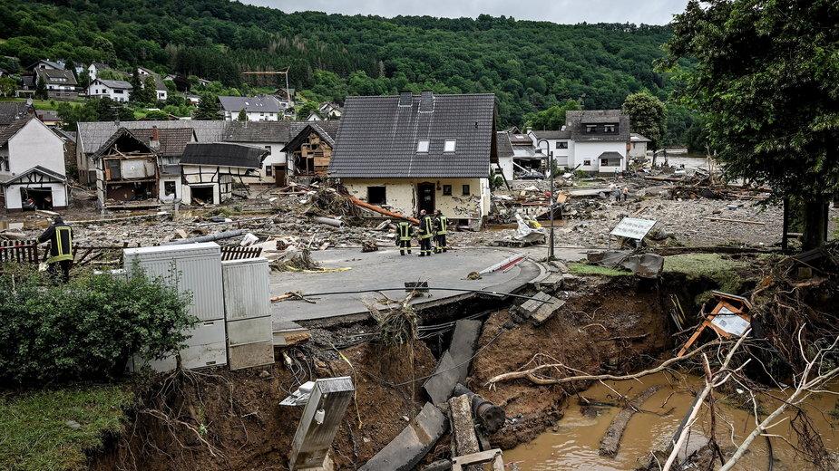 Wielka powódź w Niemczech. Oto skala dramatu