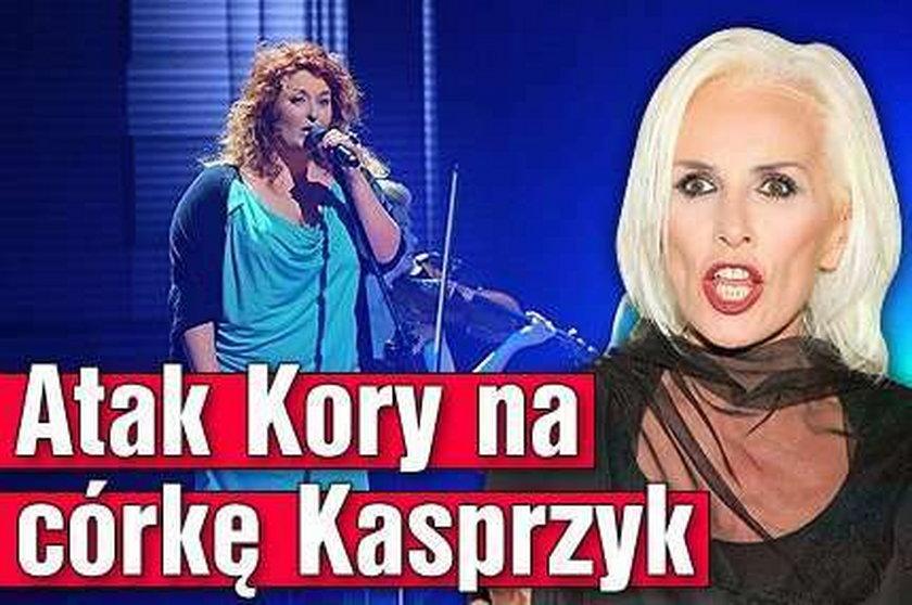 Atak Kory na córkę Kasprzyk. Co powiedziała?