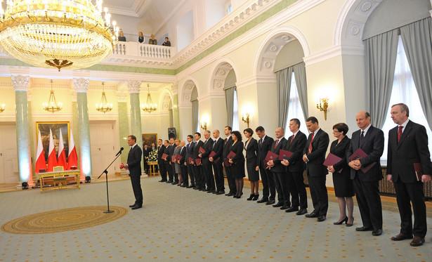 Rząd premiera Donalda Tuska.