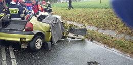 Masakra na drodze. Nie żyje dwoje młodych ludzi