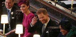 Sprzeczka Meghan i Harry'ego na ślubie Eugenii? Wszystko się nagrało
