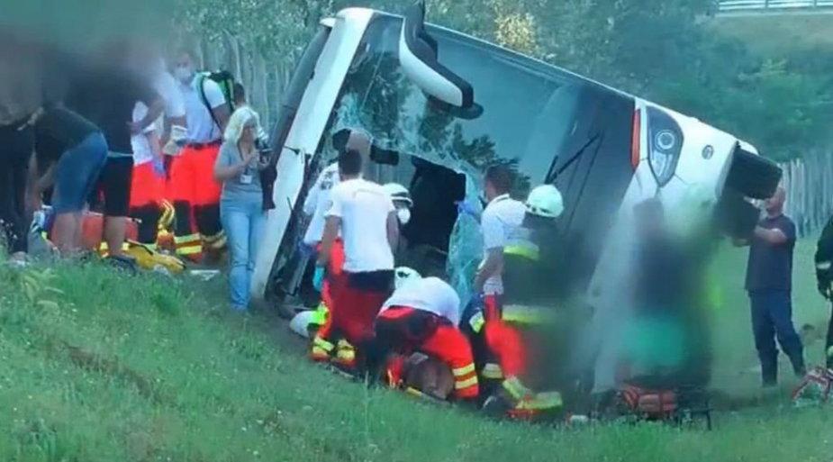 Postępowanie wyjaśniające w sprawie wypadku na Węgrzech