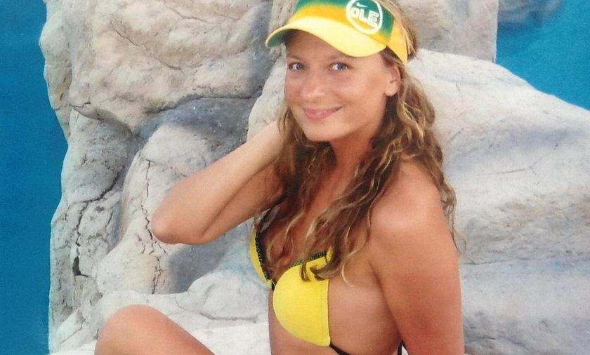 Sandra Lewandowska w bikini